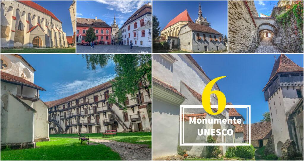 6 Monumente Unesco pe care le poți vizita dacă te afli în Brașov.