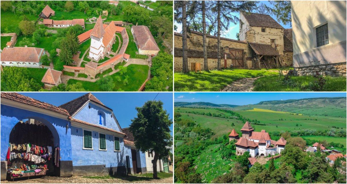 Biserici fortificate și sate săsești uitate de timp. Vizită la Viscri, Meșendorf și Criț.