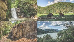 Excursie in natura. Vizita la Cascada Pruncea, Lacul Siriu, Cascada Urlatoarea, Valea Zimbrilor.