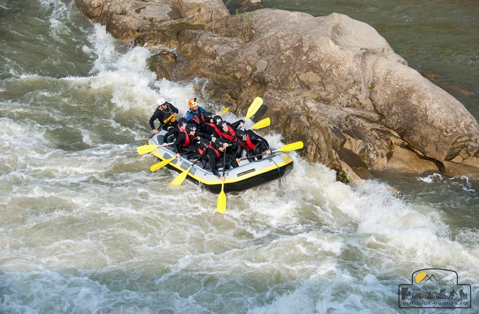 Mares Outdoor Events - Rafting pe râul Buzău